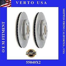 Brake Disc Rotors- Front fit Chevrolet, Oldsmobile, Pontiac  55040X2
