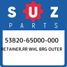 53820-65D00-000 Suzuki Retainer,rr whl brg outer 5382065D00000, New Genuine OEM