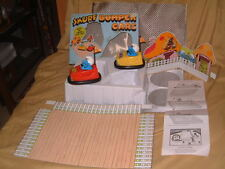 GALOOB VINTAGE SMUFF BUMPER CARS. COMPLETE, ORIGINAL, FULLY OPERATIONAL W/BOX!