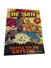 He-Man Battle For The Crystal Mini Give Away Comic Vol. 1, No. 3 Mattel MOTU