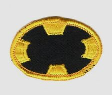 Army Airborne Oval Patch: Golden Knights Demo Team - merrowed on twill
