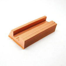 62x30.5x14 mm Copper Fin heat sink for flat heat pipe