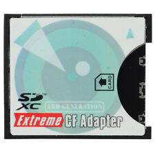 EP-025 SD SDHC SDXC to High-Speed Extreme Compact Flash CF Type II Adapter