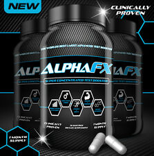 AlphaFX™ Best Test Booster Anabolic Testosterone Booster Libido Estrogen Blocker