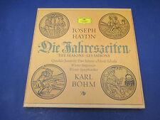 Haydn The Seasons Karl Bohm, 2864-012, 3 Record Set WIth Score
