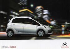 Citroen c-Zero eléctrico Electric Drive Klein carro folleto brochure 2010 3