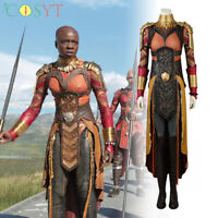 Hot Cakes 2018 Movie Black Okoye Cosplay Costume Halloween Outfit Shoes