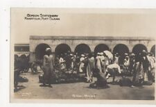 Native Market Khartoum Port Sudan Vintage RP Postcard 487a