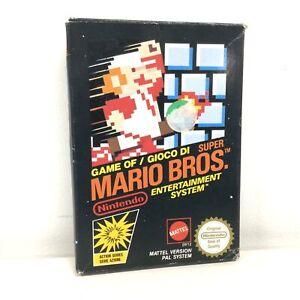 Super Mario Bros. 1985 Video Game w/ Original Box (Opened) #563