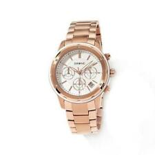 DRONE Precision Timepieces Chronograph Rosetone Stainless Steel Watch