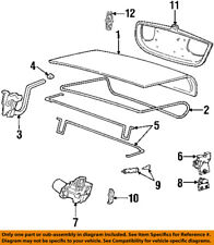 Lincoln FORD OEM 98-00 Town Car Trunk Lid-Weatherstrip Seal F8VZ5443720AA