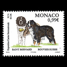 Monaco 2002-International Dog Show Fauna-Sc 2248 MNH