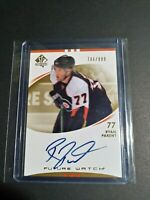 2007-08 SP Authentic Ryan Parent 706/999 Auto Rookie Future Watch Flyers