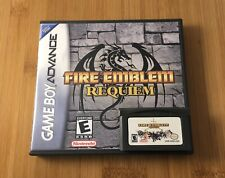 Fire Emblem: Requiem w/ New Custom Case - Nintendo Game Boy Advance -USA Seller!