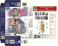 Master Box — Truckers series Mindy — Plastic model kit 1:24 Scale #24061