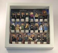 Minifigure Display Case Frame Lego Fantastic Beasts Harry Potter 22 fig bricks