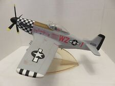 MUSTANG Model Metal Airplane P-51D Big Beautiful Doll Fighter Squadron  Desk Top