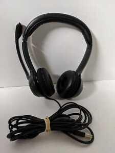 Logitech H390 USB Headset With Mic & Mute Button