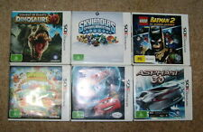 6 x Nintendo 3DS Games - Cars 2, Moshlings, Skylanders. Lego Batman 2, etc - VGC