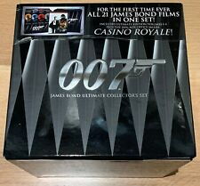 James Bond 007 Ultimate Collector's Set 21 With Casino Royal Volumes 1-4