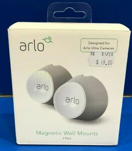 Arlo Magnetic Wall Mounts 2 Pack VMA5000 Brand New
