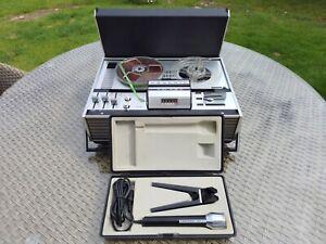 Grundig TK-141 4-track open reel tape recorder