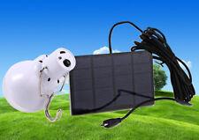 Ampoule à LED autonome avec batteire et chargeur solaire 120 lumens eclairage