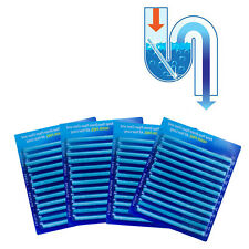 12 Pack Drain Cleaning Tool Sticks-Keep Your Drains Pipes Bathtub Clear Tool