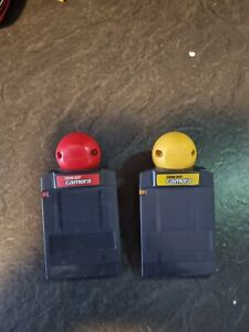 2 nintendo Game Boy Camera Yellow and red