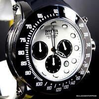 Invicta Reserve Subaqua Trackmaster White Chronograph Rubber 52mm Watch New