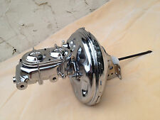 "1970-81 Camaro Firebird 11""brake booster & 1 1/8"" bore chrome master cylinder"