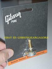 Gibson Les Paul Pot 300k Linear Taper Long Shaft Guitar Parts R9 T R8 R7 R0 V RD