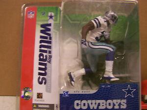 McFarlane's Sportspicks Roy Williams Action Figure Debut   Cowboys Series 10
