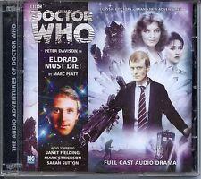Dr Doctor Who Eldrad Must Die Audio CD MINT Peter Davidson