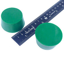 """(2) 1 5/8"""" x 2"""" #10 High Temp Silicone Rubber Plugs Powder Coat Coating Paint"""