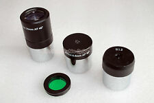 "1.25 "" 25mm,12 mm, 6,5 mm Telescopio Oculare + MOON FILTRO (non standard thread)"