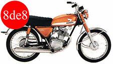 Honda CB/CL/CD/SL 100/125 (1971) - Workshop Manual on CD