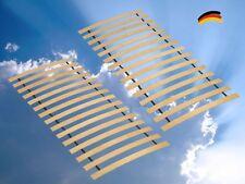 Doppelpack 2x ACHAT Rollrost Buche Schichtholz Rolllattenrost Lattenrost 90x200
