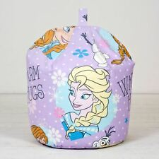 Disney Frozen Elsa Anna Olaf Kids Childrens Girls Purple Bean Bag/ Refill/ Cover