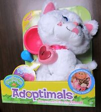 Cabbage Patch Adoptimals White Kitten Plush Sounds & Lights NEW!