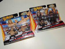 NIB Mattel WWE Rumblers Undertaker, Edge, Orton & Henry RARE NEW!