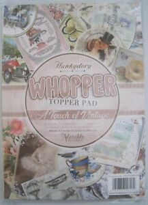 HUNKYDORY WHOPPER TOPPER PAD - A TOUCH OF VINTAGE