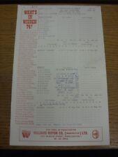 22/06/1974 Cricket Scorecard: Lancashire v Essex  [At Old Trafford] (results fil