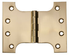 Polished Brass Parliament Hinge. 100x125x4mm. HDLTH2481