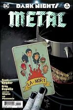 DARK NIGHT METAL #5 Foil  Scott Snyder Capullo 1st Print NM FREE SHIPPING AVAIL
