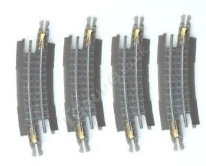 T Gauge 1:450 Scale Grey 120mm Radius Curved Track 15 Degree R-013