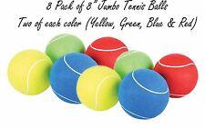 (Pack of 8) 8-inch Jumbo Tennis Balls