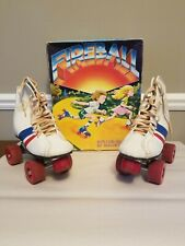 Roller Skates Vintage Fireball Official Roller Derby Size 2 with Box
