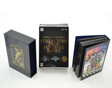 PS3 KINGDOM HEARTS Collector's Pack HD 1.5 2.5 remix KH Limited Edition