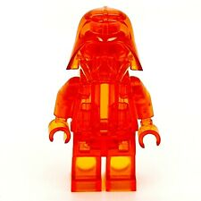 LEGO Monochrome Star Wars Darth Vader Helm/helmet Prototype trans orange Minifig